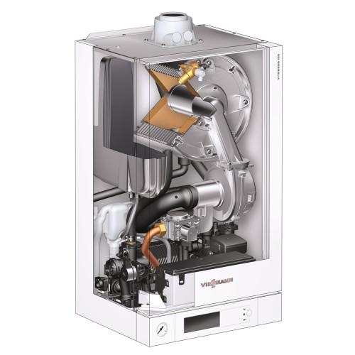Centrala termica in condensare Viessmann Vitodens 100-W B1HC179 35 kW fara ACM