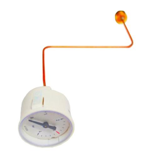 Manometru circular cu tub capilar pentru centrala termica Viessmann Vitopend 100 WH1D, cod piesa 7834985