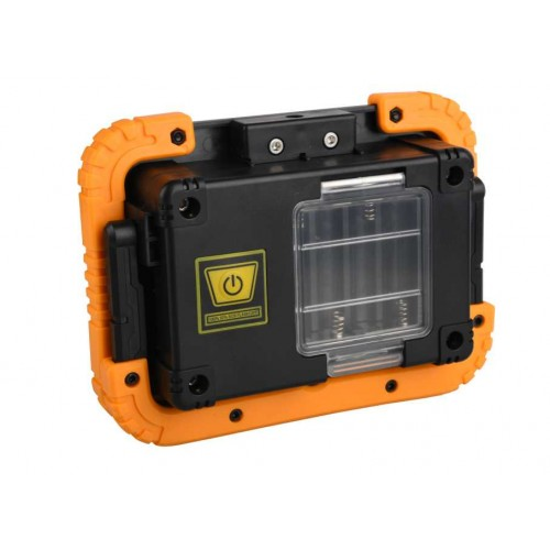 Proiector LED portabil cu baterie 4xAA 10W 700lm IP65 Well