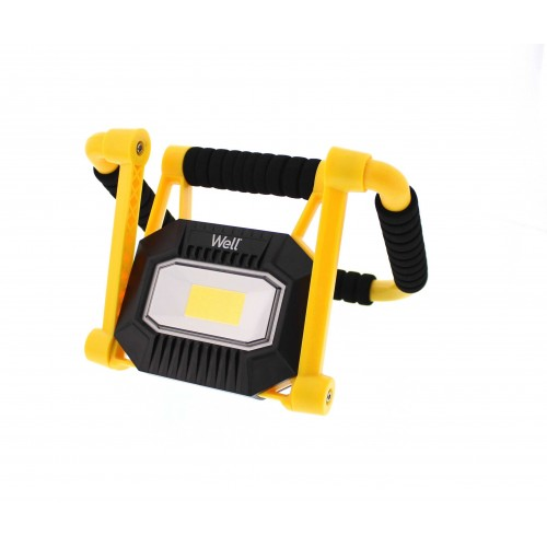 Proiector LED portabil reincarcabil 10W 700lm IP65 Well