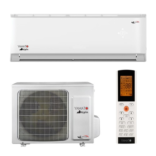 Aparat aer conditionat Yamato Alpin YW09IG5 9000 BTU WiFi inclus, Generator Cold Plasma freon R32, A++, Timer, kit instalare inclus
