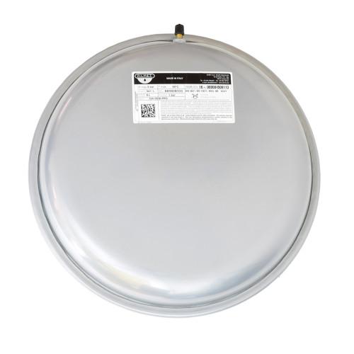 "Vas de expansiune 6 litri Zilmet, diametru 324 mm, grosime 103 mm, racord 3/4"", membrana fixa, 3 bar, rotund"