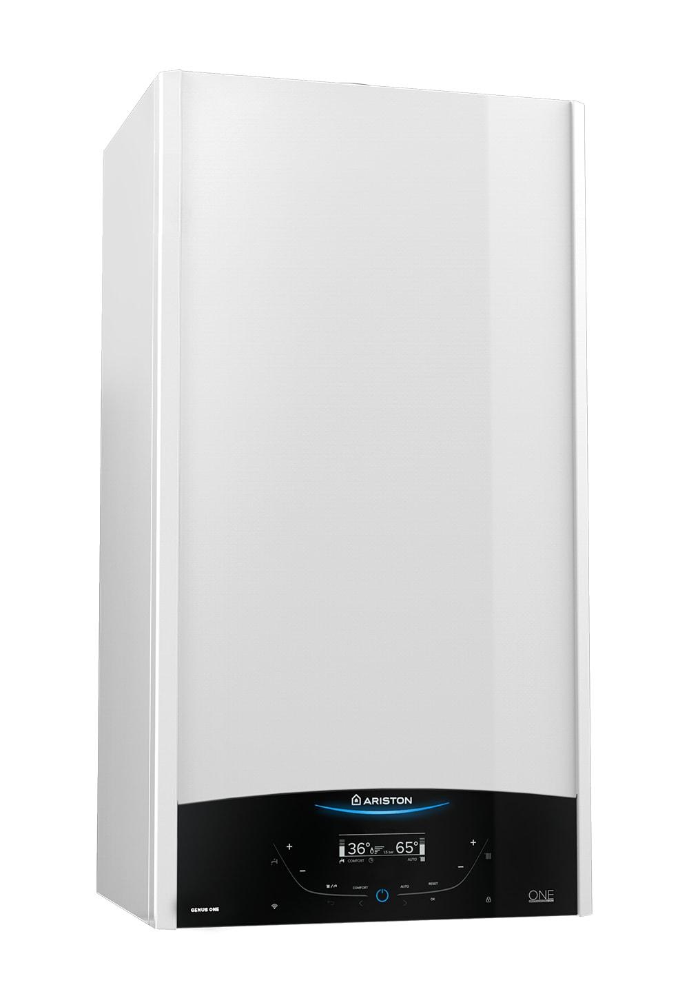 Centrala termica in condensare Ariston GENUS ONE SYSTEM 35, capacitate 35 kW, afisaj LCD, doar incalzire, Functie AUTO, Silentioasa