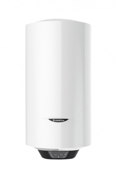 Boiler electric Ariston Pro1 ECO Slim 50 V 1,8K PL EU, 50 litri, Economie ECO EVO, Tehnologiei WaterPlus, Ecran inteligent, Supapa siguranta, Functia T-MAX