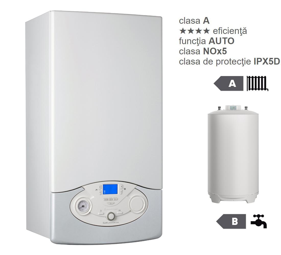 Pachet centrala termica in condesare Clas Premium System Evo 24 EU cu boiler indirect BCH 160 EU