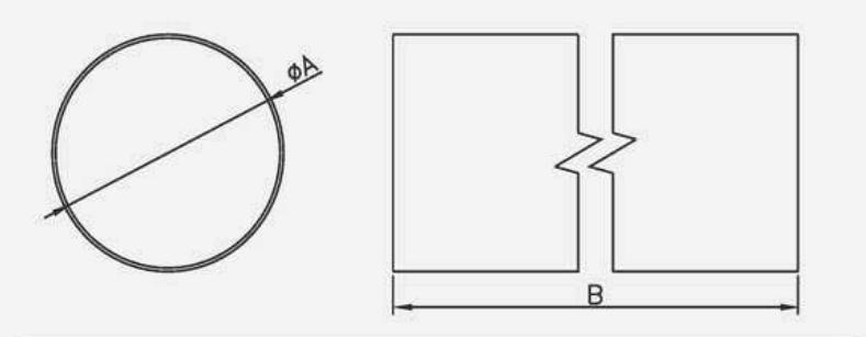 Dimensiuni tubulatura circulara Dospel D/O