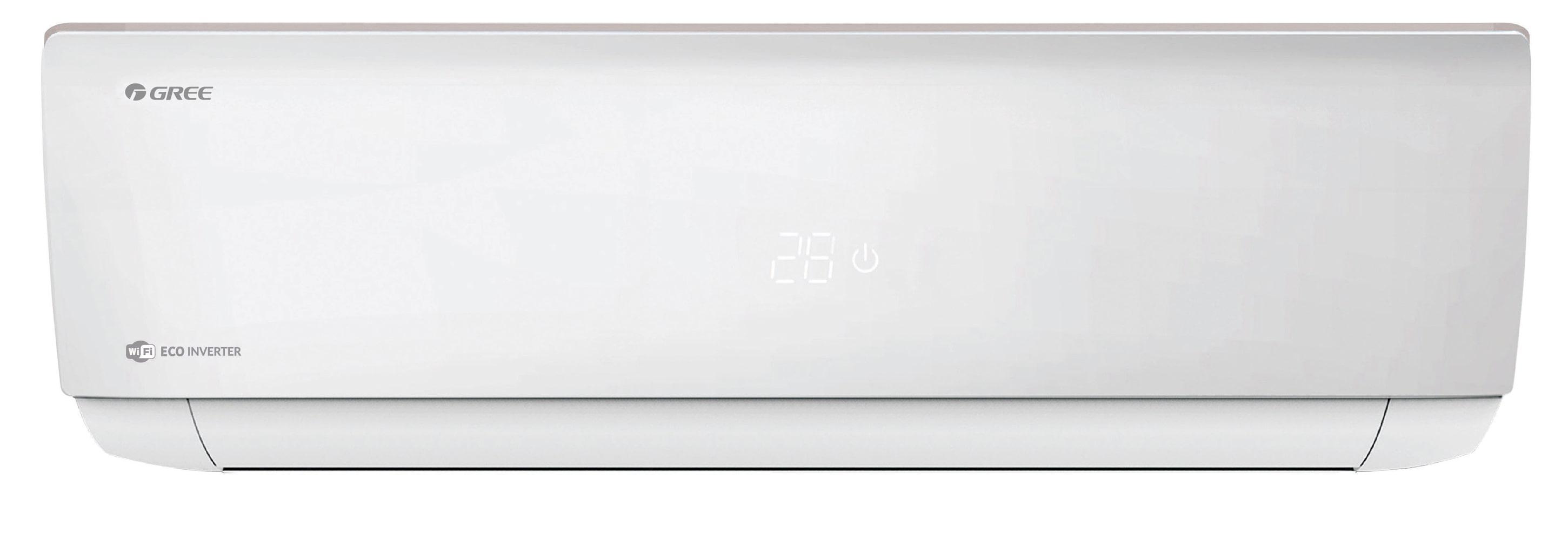 Pachet: aer conditionat cu montaj inclus Gree Bora A4 SIlver 12000 BTU GWH12AAB-K6DNA4A Inverter, A++, kit instalare inclus, Control WiFi, Filtru Silver Ion si Cold Plasma, I Feel, Afisaj Ceas