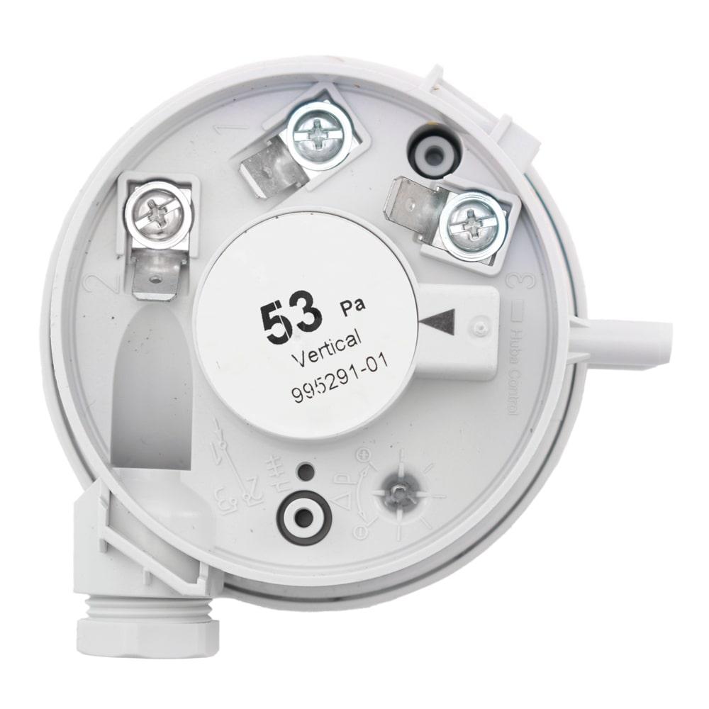 Presostat aer pentru centrala termica Ariston MicroSystem 21, 53 Pa, cod piesa 995291-01