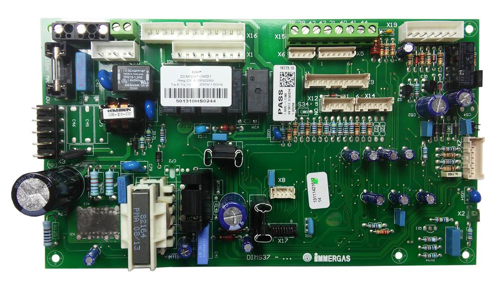 Placa electronica pentru centrala termica Immergas VICTRIX SUPERIOR KW, cod piesa 1.035359